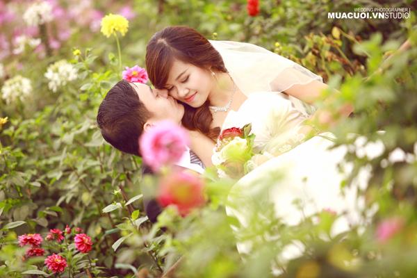 Kết quả hình ảnh cho ảnh cưới thung lũng hoa tây hồ
